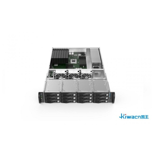 2U network server chassis