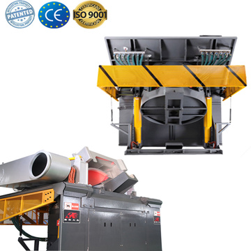 Induction melting lead smelting furnace
