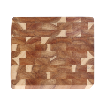 Acacia end grain cutting board