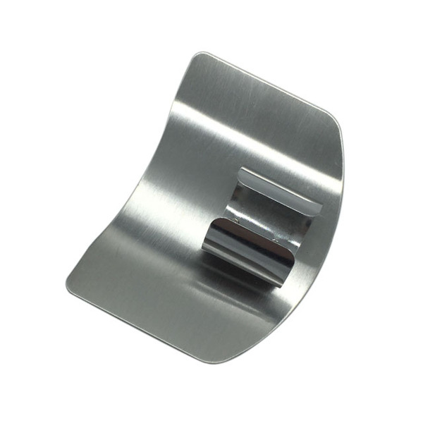 Kitchen Stainless Steel Finger Protector Hand Cut Guard