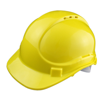 Nylon suspension safety helmet