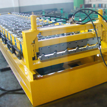 Factory selling building material roof tile roll forming parts machine