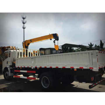 4X2 Truck Mounted Hydraulic Crane XCMG 3.2 Tons