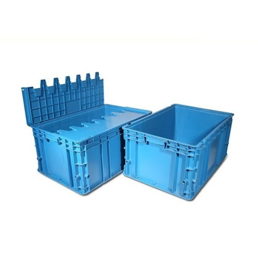 Process Plastic Injection Turnover Box Mould