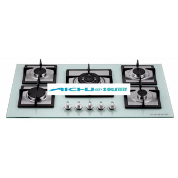 Built In Tempered Glass Gas Hob