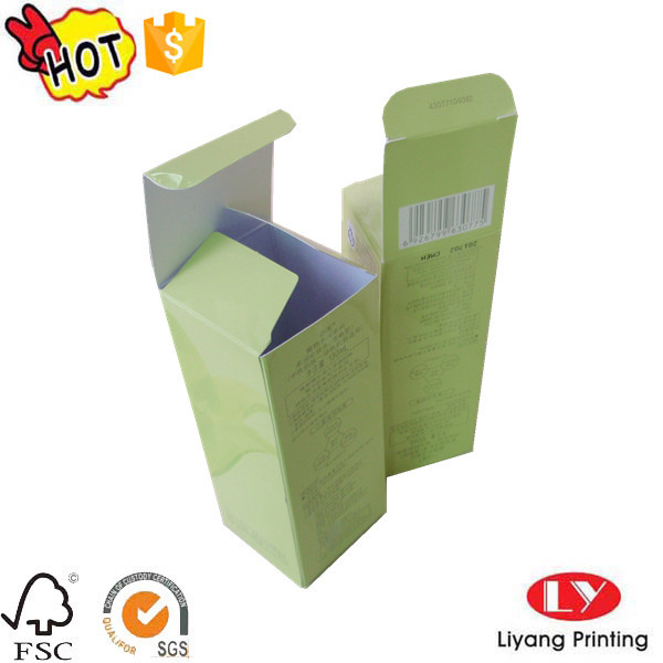 Cheap cosmetic packaging paper box with logo