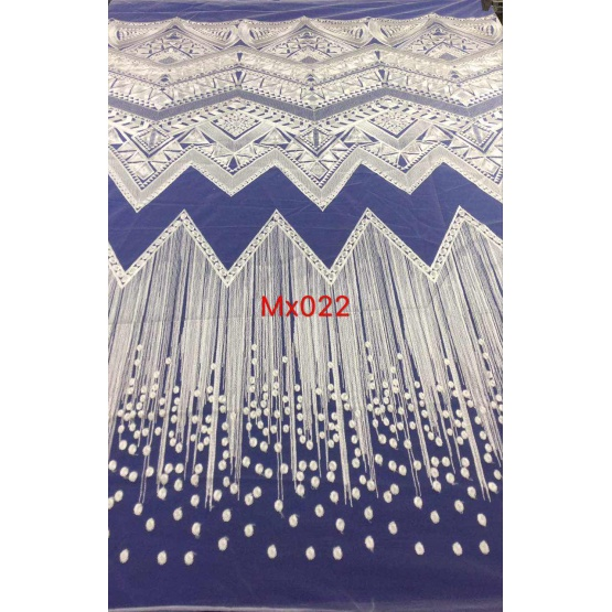 Characteristics of Lace Flat Embroidery Fabric
