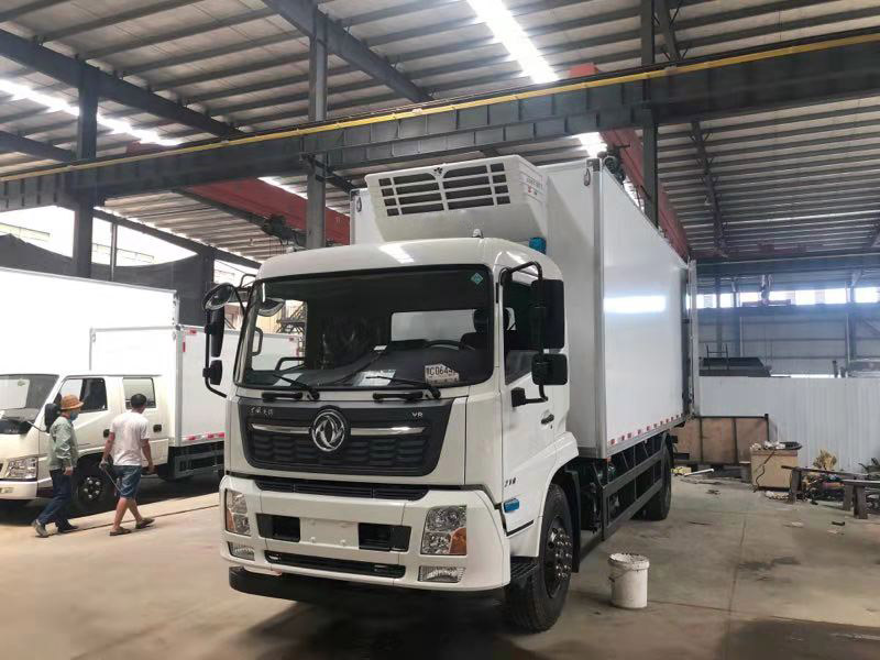 refrigeration unit for electric truck