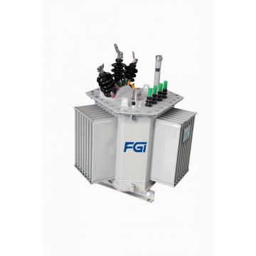 High-efficiency Triangular Coil Core Transformer Cooling Oil