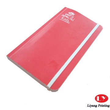 Quality custom printed coloring size notebook