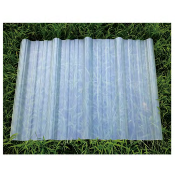 transparent corrugated frp roofing sheet