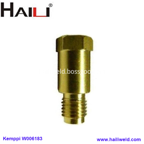 W006183 brass tip holder for kemppi