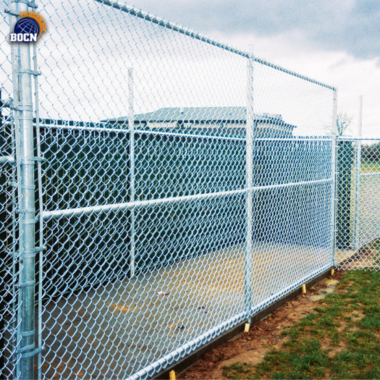 High security products chain link fence