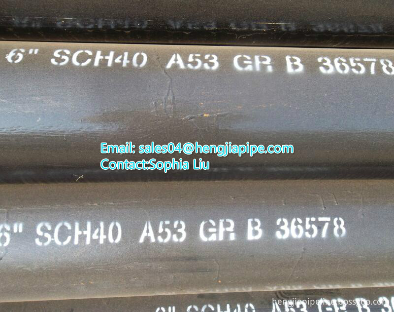 hot rolled carbon steel steel pipes