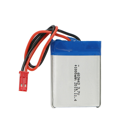 Customized 603043 3.7V 1000mAh Lithium Polymer Battery