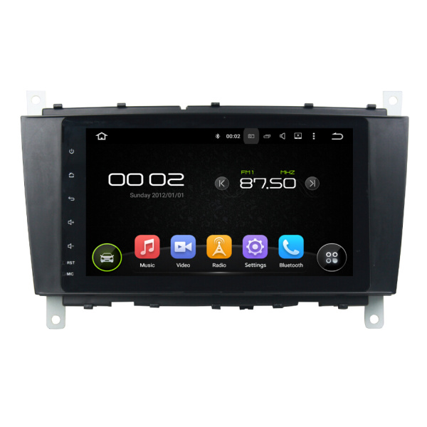 8 inch android car dvd player for Benz C-Class