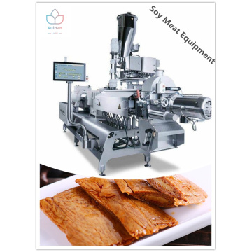 Health soya meat production lines from professional factory