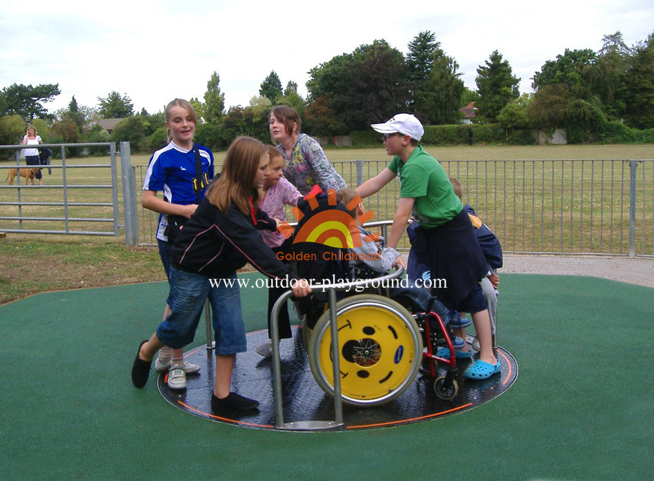Playground Roundabout For Kids