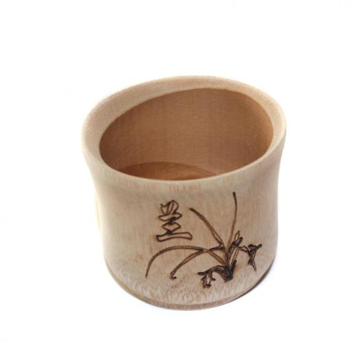 Eco Natural Reusable Bamboo Wood Cup