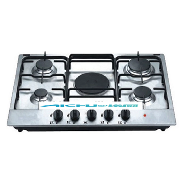 5 Burners Blue Flame Built In Gas Hob