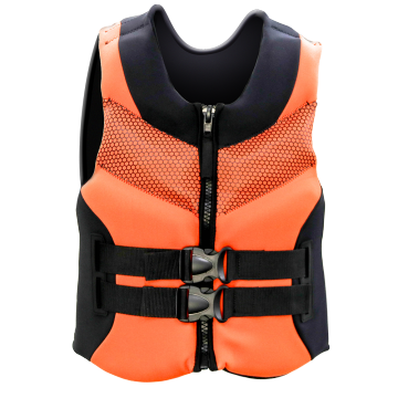 Seaskin Life Vest for Kayaking with Front Zip