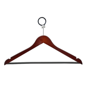 Fashion Custom Wooden Hangers with Logo for Clothes