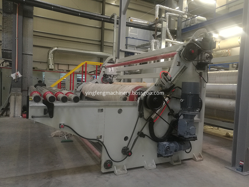 pp nonwoven fabric making machinery
