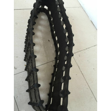 Rubber track 400x72.5x70 for excavator/agriculture/harvester