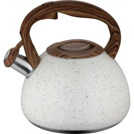 2.7L lime green tea kettle