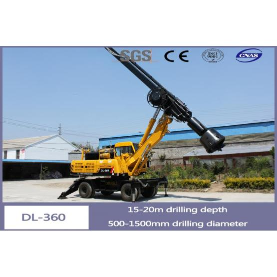 20 Meter Drilling Equipment DL-360 for Sale