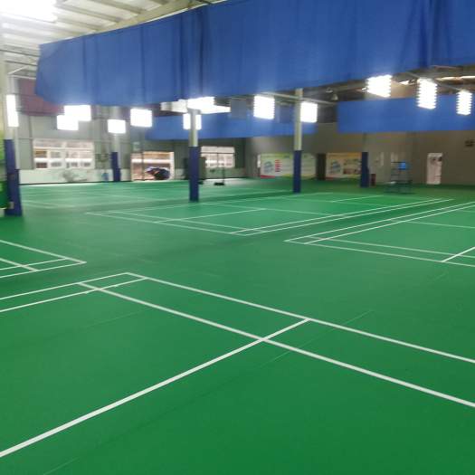 PVC floor for Badminton and Table Tennis court
