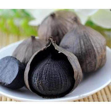 Sweet Black Garlic From Raw Garlic Fermentation