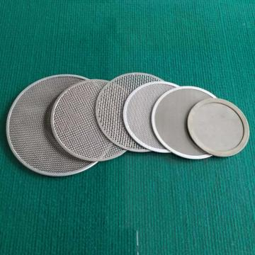 Customize stainless steel porous metal wire mesh disc