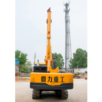 Square rod pile driver  corporation