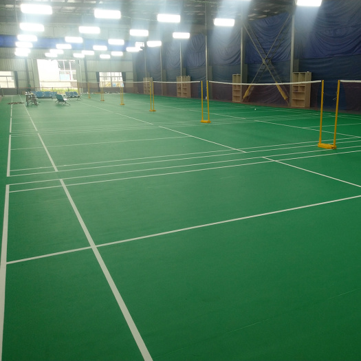 2020 PVC badminton floor mat with BWF