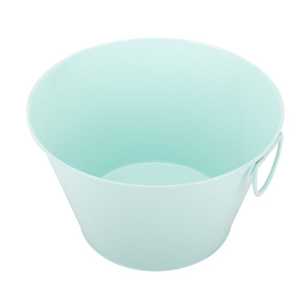 Oval Hot Coal Tub Ice Bucket Outdoor