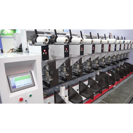 Intelligent High speed Electronic Yarn Guide Winding Machine