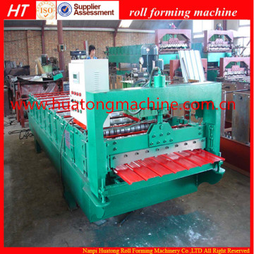 Profile Roofing Sheet Metal Cold Roll Forming Machine Roll Former