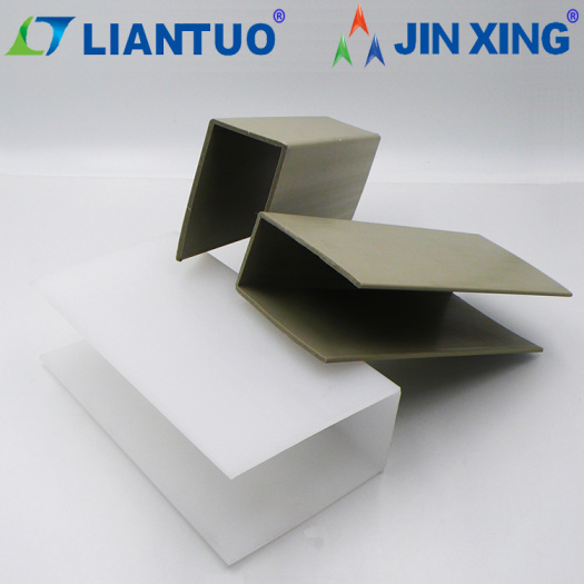 Natural 3mm Thickness Extruded Plastic U-Shape PP Profile