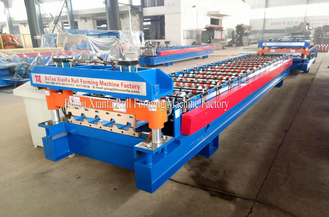 trapezoid iron sheet making machine