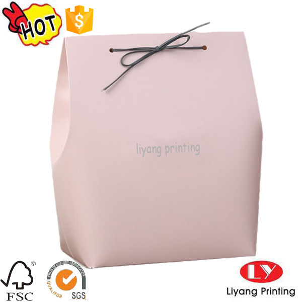 Custom logo printed foldable paper box