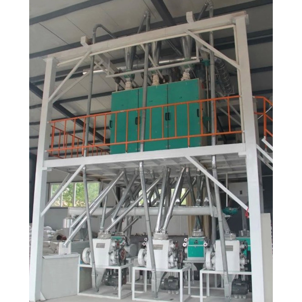 40tons of Buckwheat Processing Equipment