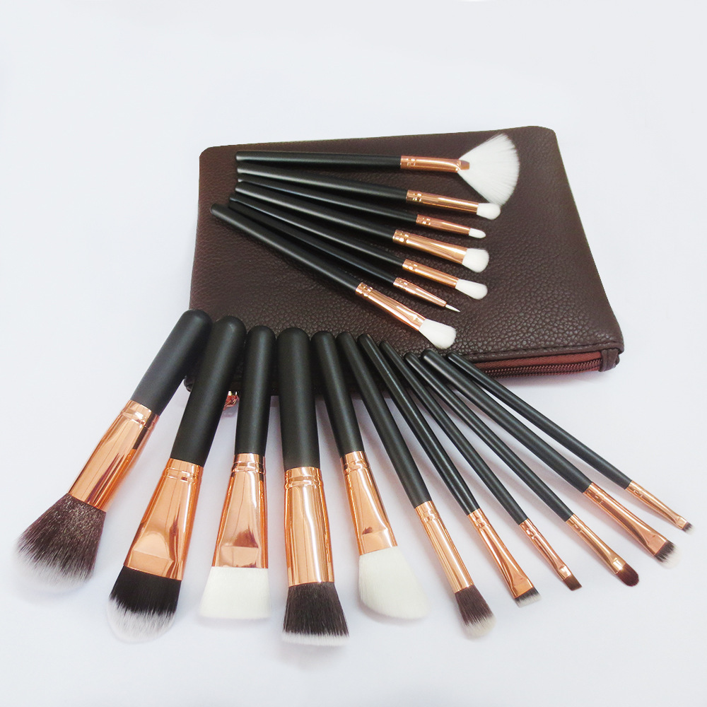 Synthetic Hair Makeup Brush Set