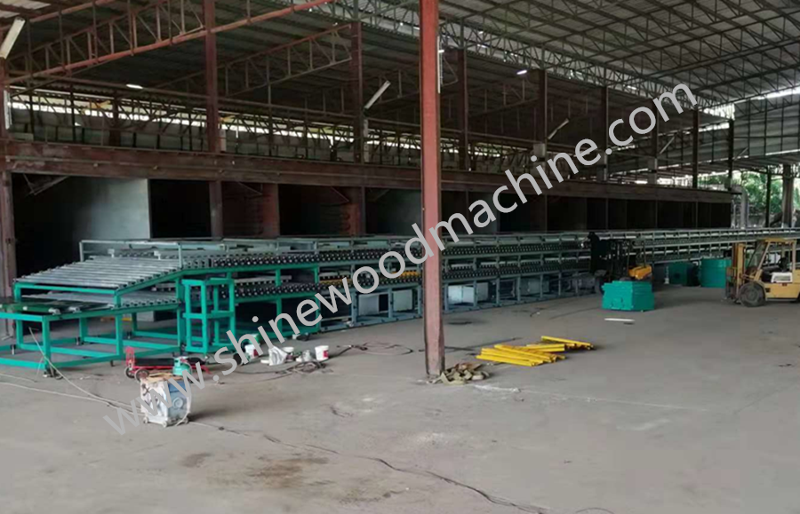 wood dryer machine
