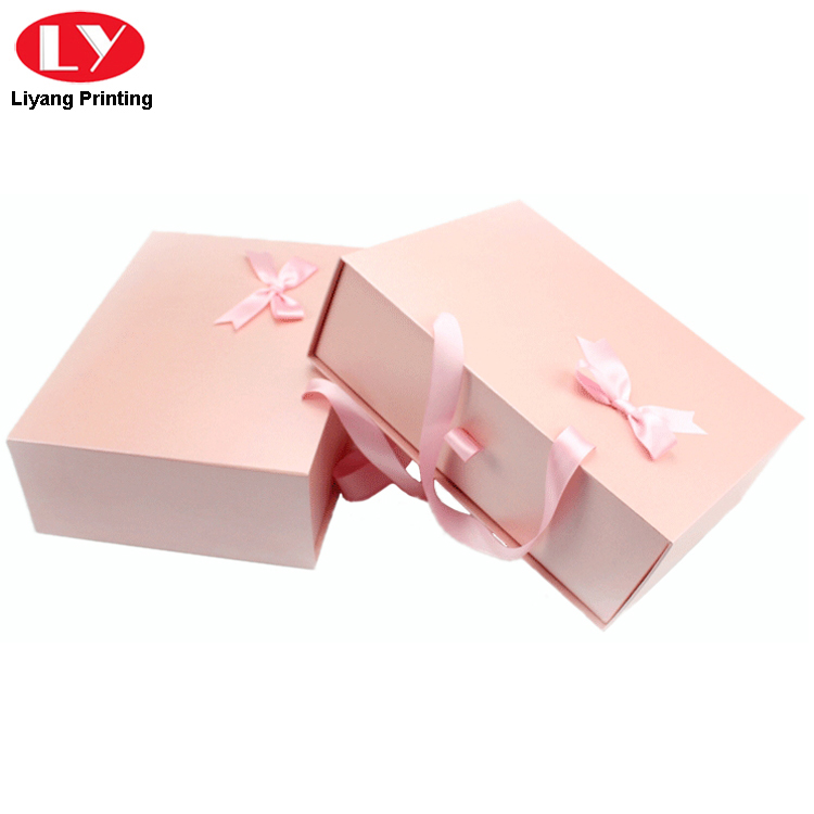 Pink Drawer Boxes