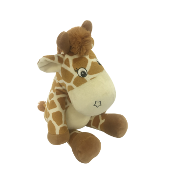 Plush Giraffe With Rattle