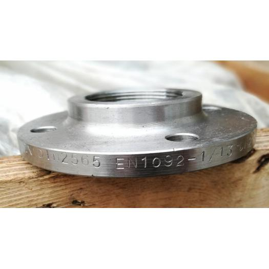 BSPP Steel Threaded Flanges
