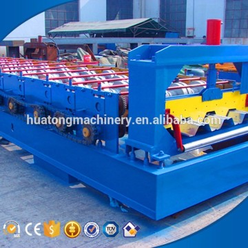 Good price customized length floor decking cold roll forming machine