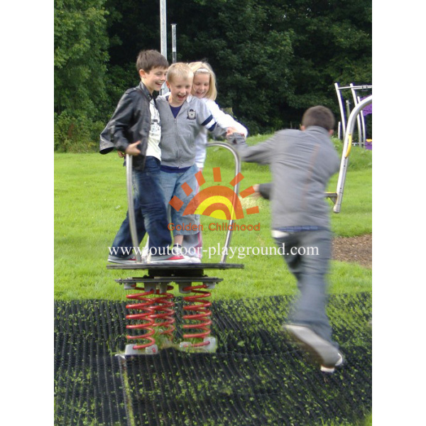 Fun Spinning Children′s Roundabout For Playgrounds