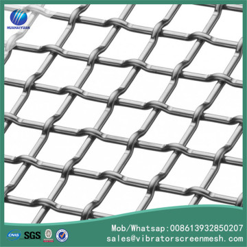 High Tensile Steel Lock Crimped Screen Mesh